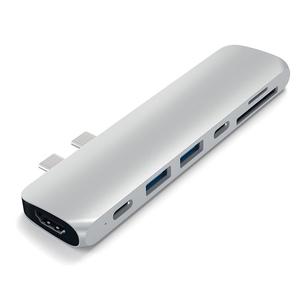 Shop Australia stock SATECHI TYPE-C PRO HUB ADAPTER 40GBS THUNDERBOLT 3/4K HDMI,PASS THROUGH CHARGING /2 USB 3.0 PORTS -SILVER with free shipping online. Shop SATECHI collections with afterpay