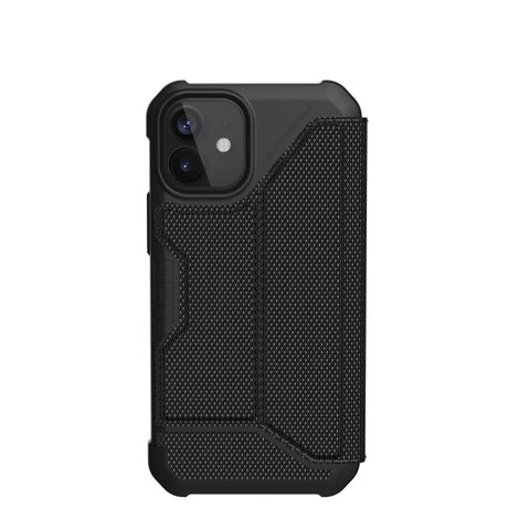 "Buy New iPhone 12 Mini (5.4"") Metropolis Card Folio Case From UAG - Armortech Kevlar Online local Australia stock."