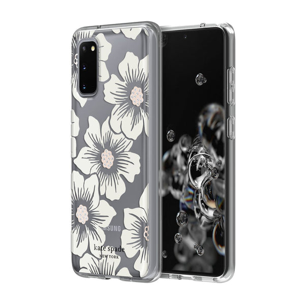 looking for cute designer case for samsung s20 5g? buy online at syntrcate kate spade new york australia designer clear flower pattern case collection. woman australia collection samsung s20 plus 5g