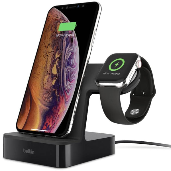 charging station for iphone xs max iphone xs iphone x apple watch series 4 from belkin