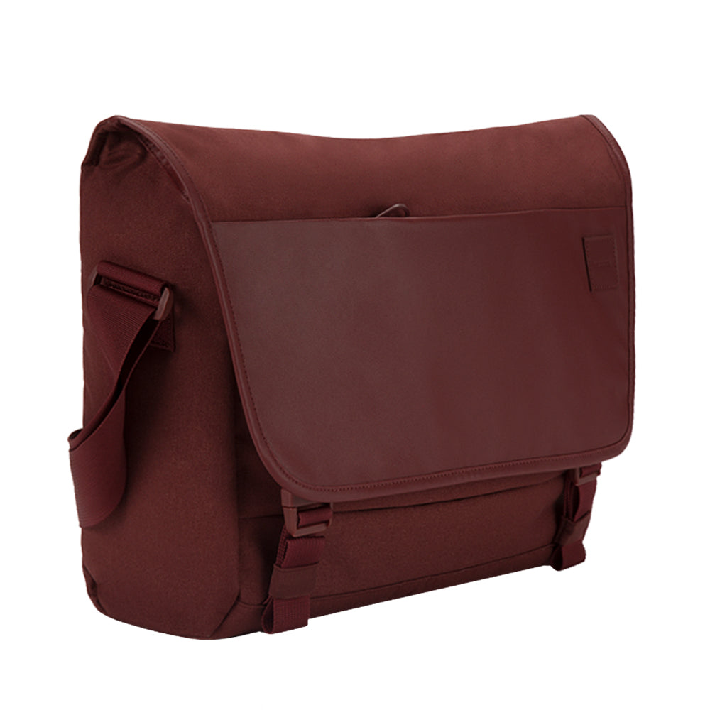 the place to get genuine incase compass messenger bag for macbook upto 15 inch deep red syntricate offer free shipping australia wide Australia Stock
