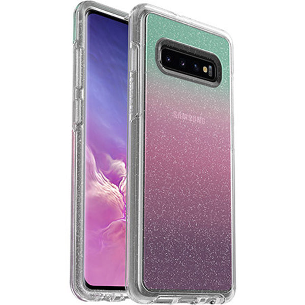 glitter clear case for samsung s10 plus (6.4-inch)