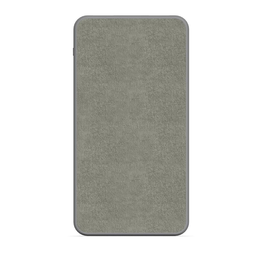 MOPHIE Powerstation 10000mAh Fabric Universal Power Bank - Gray Australia Stock