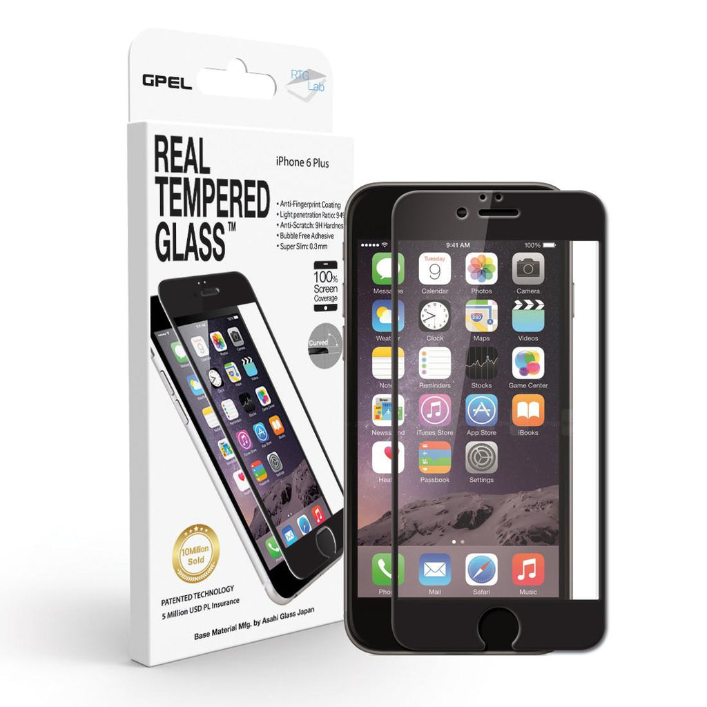 Shop Australia stock GPEL ASAHI REAL TEMPERED GLASS SCREEN PROTECTOR FOR IPHONE 6S PLUS/6 PLUS - BLACK with free shipping online. Shop GPEL collections with afterpay Australia Stock