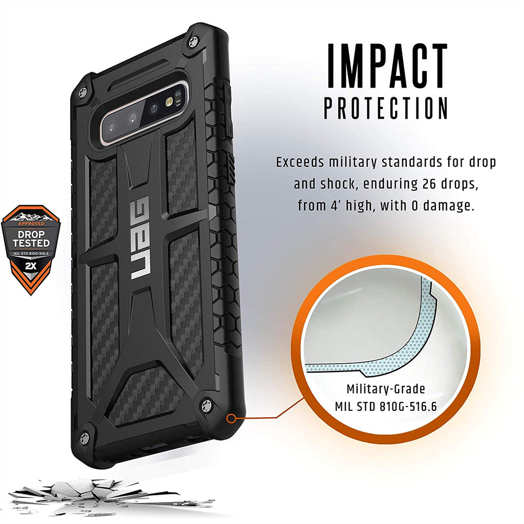 Shop Australia stock UAG MONARCH HANDCRAFTED RUGGED CASE FOR GALAXY S10 PLUS (6.4-INCH) - CARBON FIBER with free shipping online. Shop UAG collections with afterpay Australia Stock