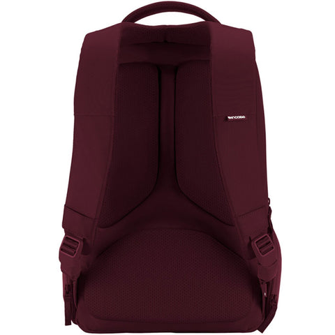 the best online store to get incase icon slim backpack bag for macbook deep red tab, ipad, tablet, notebook, laptop, netbook