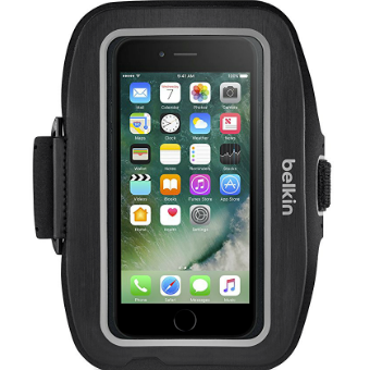 place to get cheap Belkin Sport Fit Plus Lightweight Armband for iPhone 7 - Black australia