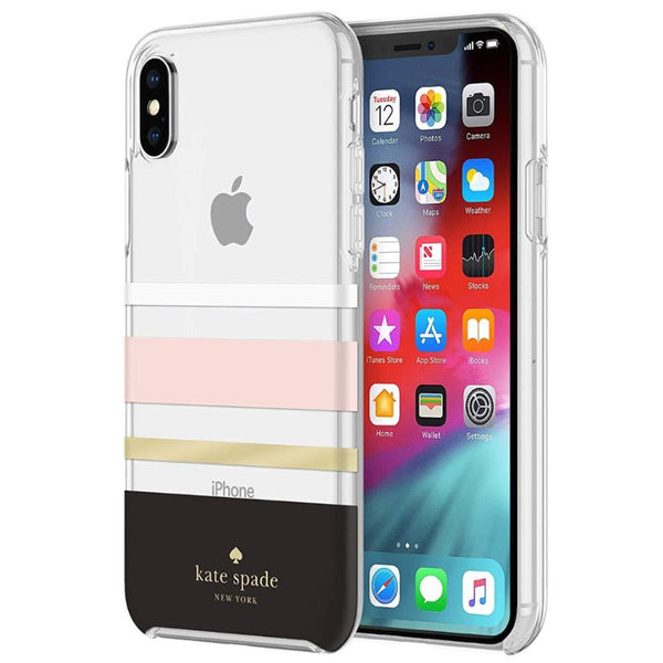 Get the latest PROTECTIVE HARDSHELL CASE FOR IPHONE XS MAX - CHARLOTTE STRIPE FROM KATE SPADE NEW YORK with free shipping online.