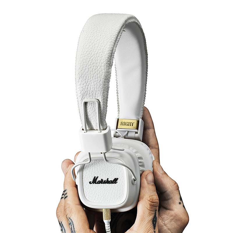 MARSHALL MAJOR II ON-EAR HEADPHONES - WHITE Australia Stock