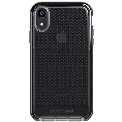 Place to buy EVO CHECK FLEXSHOCK CASE FOR IPHONE XR - SMOKEY/BLACK FROM TECH21 online in Australia free shipping & afterpay.