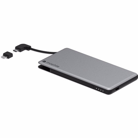 Shop Australia stock MOPHIE POWERSTATION PLUS MINI 4000 MAH EXTERNAL POWER BANK WITH BUILT IN CABLES - SPACE GRAY with free shipping online. Shop Mophie collections with afterpay