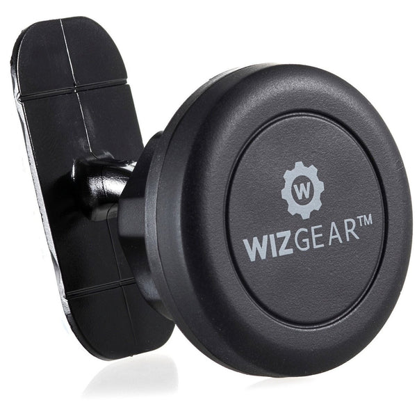 WizGear Universal Stick On Dashboard Magnetic Car Mount Holder