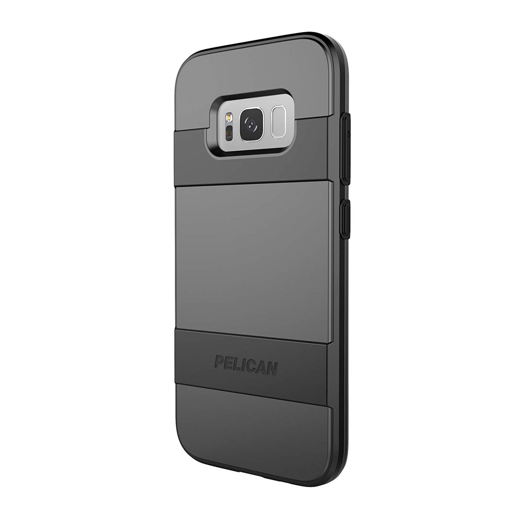 timeless design 16116 48831 Pelican Voyager Case W/screen Protector For Galaxy S8 Plus - Black