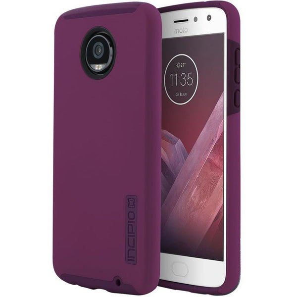 Buy Incipio Dualpro Dual-Layer Protective Case For Moto Z2 Play - Raspberry Australia