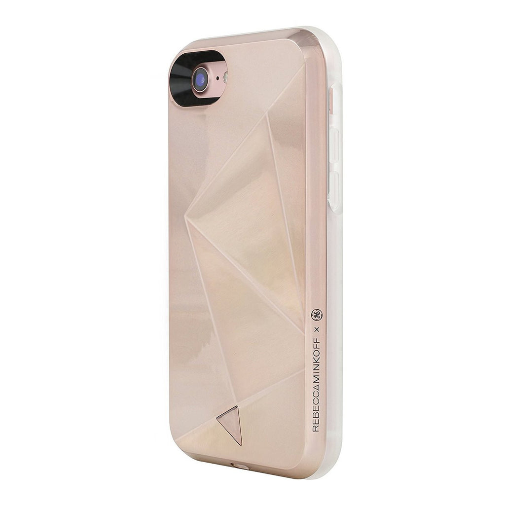 Shop Australia stock Rebecca Minkoff Glow Selfie Designer Hard Shell Case for iPhone 8/7 - Rose Gold with free shipping online. Shop Rebecca Minkoff collections with afterpay Australia Stock