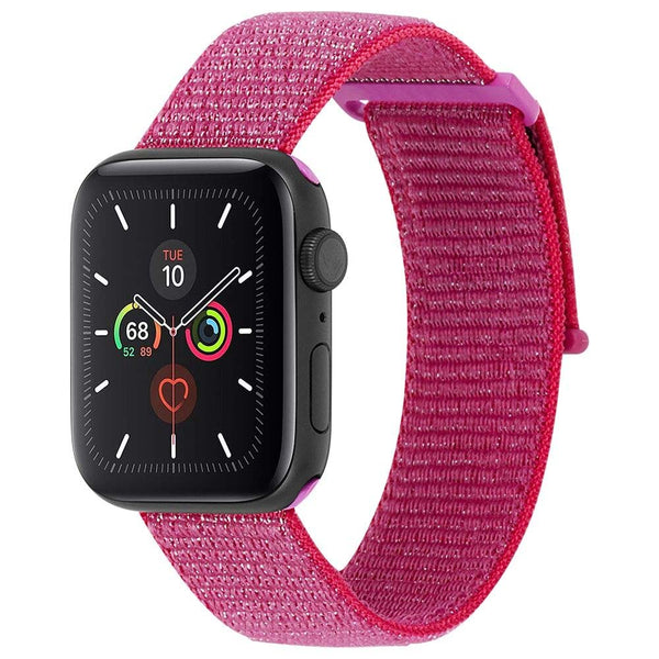 want to buy apple watch band for apple watch series 5 series 4. pink bands nylon material. buy online with afterpay payment available