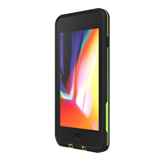 Lifeproof Fre 360° Waterproof Case For Iphone 8 Plus/7 Plus Black/Lime Australia. Australia Stock