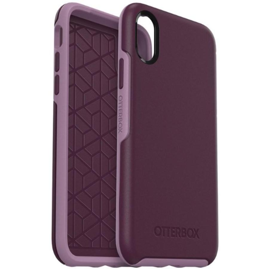 women case for iphone xr case violet purple colour case from otterbox australia. Australia Stock