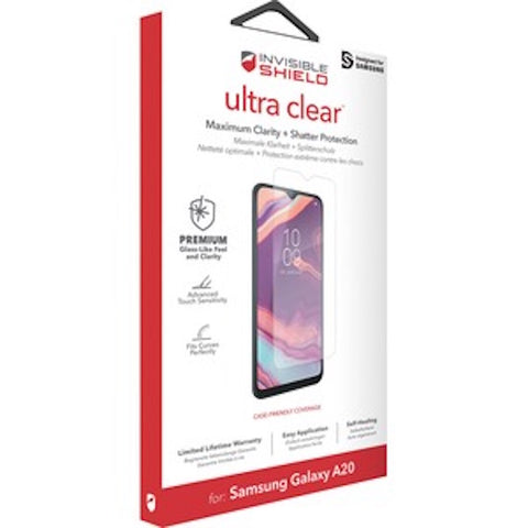 Shop Australia stock ZAGG INVISIBLE SHIELD HD DRY SCREEN PROTECTOR FOR GALAXY A20 with free shipping online. Shop Zagg collections with afterpay