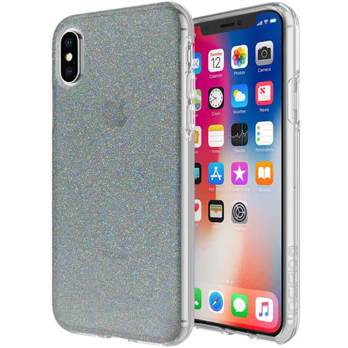 super best deals and price for Incipio Design Series Classic Hard Shell Case For Iphone X Midnight Chrome Multi-Glitter. Authorized distributor and official online store Syntricate offer free Australia wide express shipping. Australia Stock