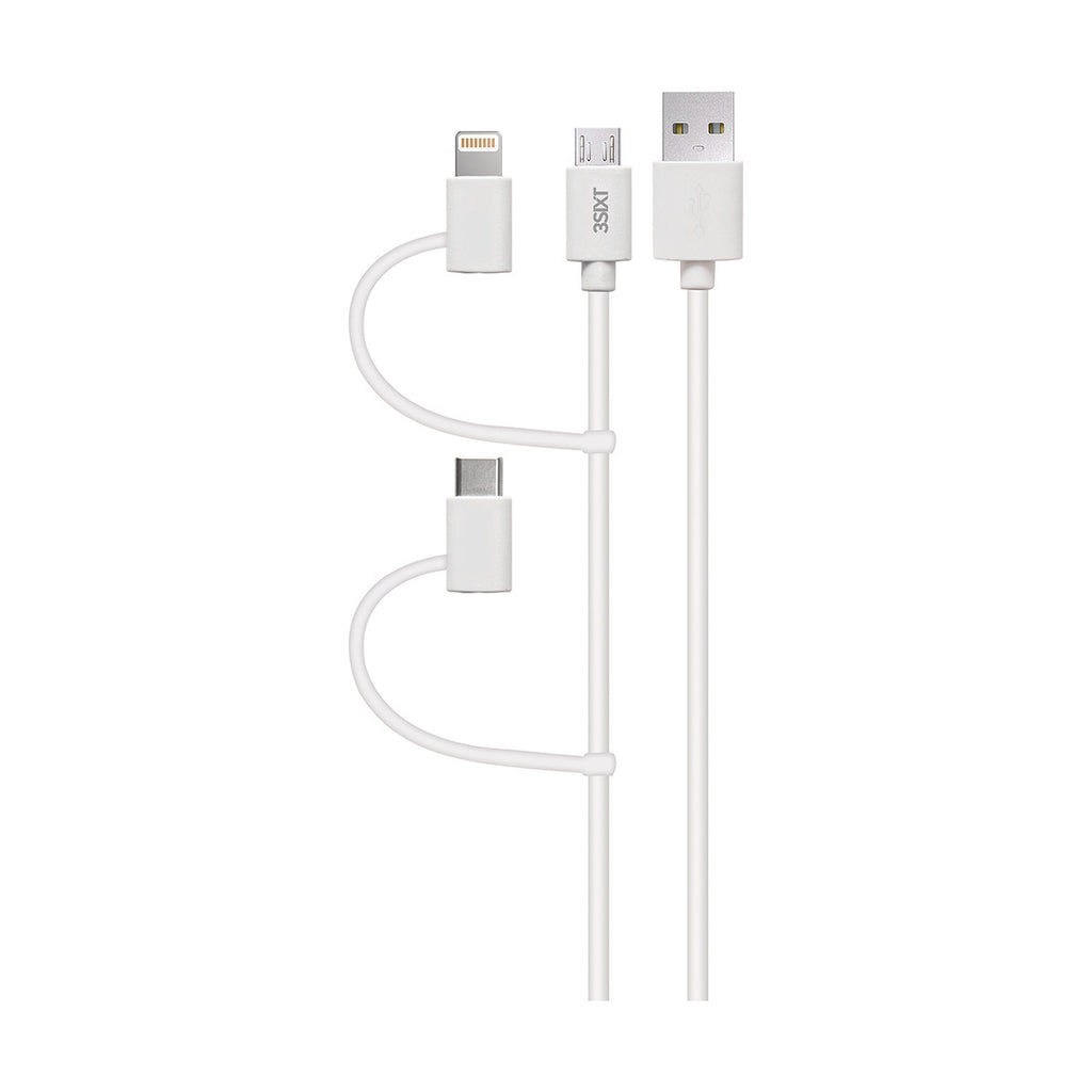 place to buy online micro usb cable with lightning adapter and usb c adapter Australia Stock