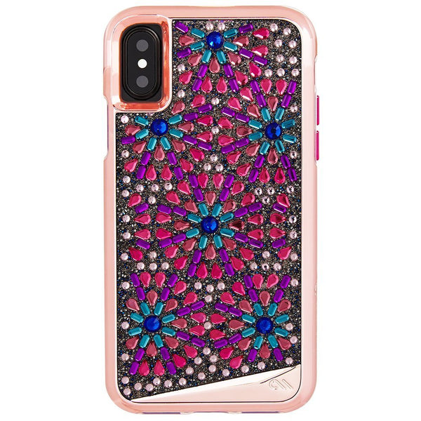 place to buy fancy and high fashion casemate brilliance tough genuine crystal case for iphone x - brooch. Free shipping australia wide.