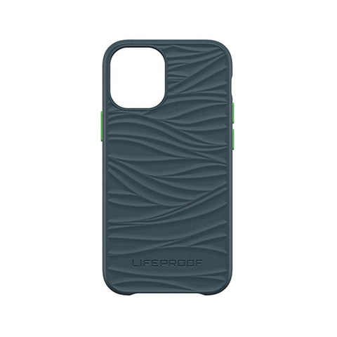 Neptune dark blue with a green touch phone case from lifeproof for your iphone 12 mini