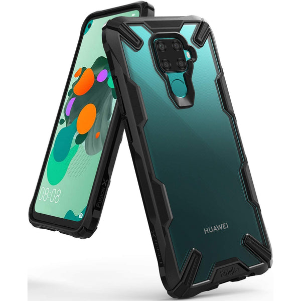 Ringke Fusion X Rugged Case For Huawei Mate 30 Lite - Black