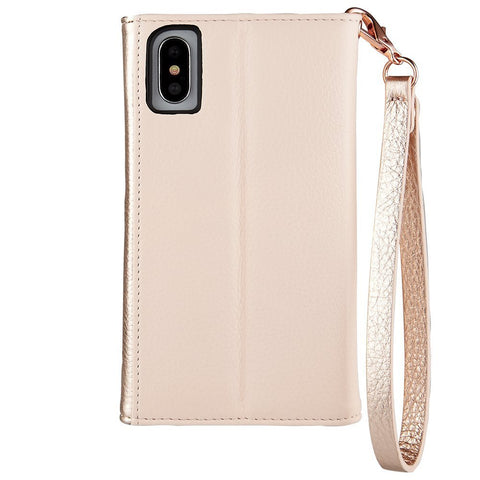 Shop Australia stock CASEMATE WRISTLET CARD FOLIO CASE FOR IPHONE XS/X - ROSE GOLD with free shipping online. Shop Casemate collections with afterpay