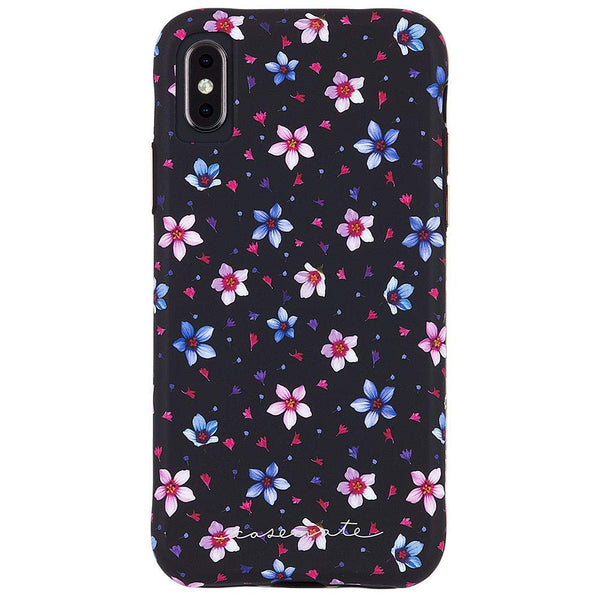 floral pattern case for iPhone Xs & iPhone X with free shipping from Casemate australia