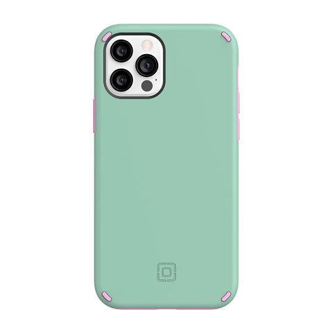 "Buy New iPhone 12 Pro / 12 (6.1"") DualPro Dual Layer Case From INCIPIO - Mint/Pink authentic accessories with afterpay & Free express shipping."