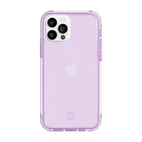 Translucent lilac, thats what the color call. New transparent case with drop protection from incipio for new iphone 12 and 12 pro Australia local stock