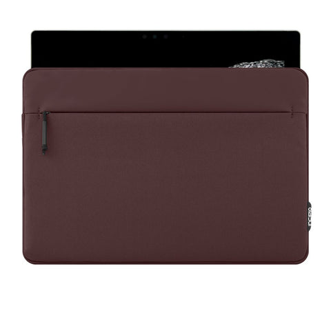 INCIPIO TRUMAN SLEEVE PROTECTIVE PADDED SLEEVE FOR SURFACE PRO (2017) /PRO 4/PRO 3 - BURGANDY