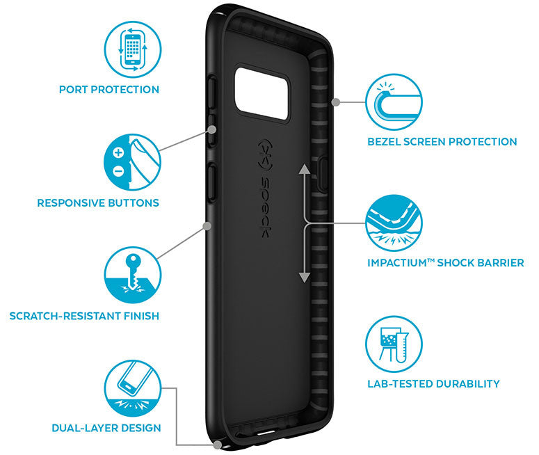 Shop Australia stock SPECK PRESIDIO SLIM IMPACTIUM CASE FOR GALAXY S8 - MARINE BLUE with free shipping online. Shop Speck collections with afterpay Australia Stock