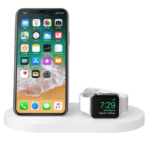 charging dock for iphone 8 plus and apple watch from griffin
