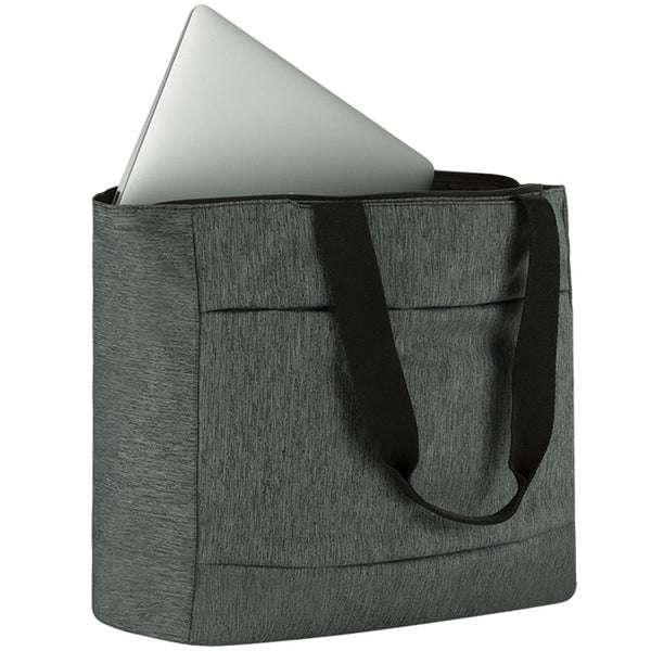 buy incase city market tote bag for macbook upto 13 inch heather black