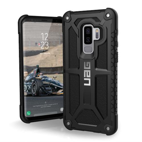 Uag Monarch Handcrafted Leather Alloy Case For Galaxy S9 Plus Black Colour