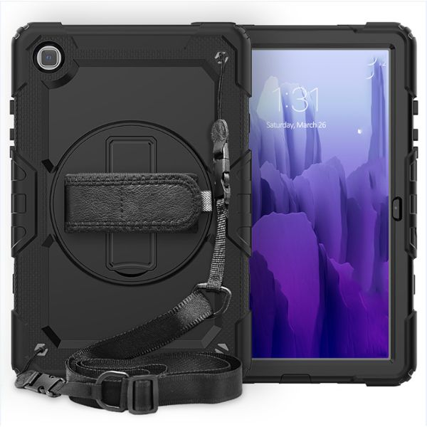 protect your new galaxy tab a7 2020 with rugged case from local brands . tough cover with hand straps and soulder straps