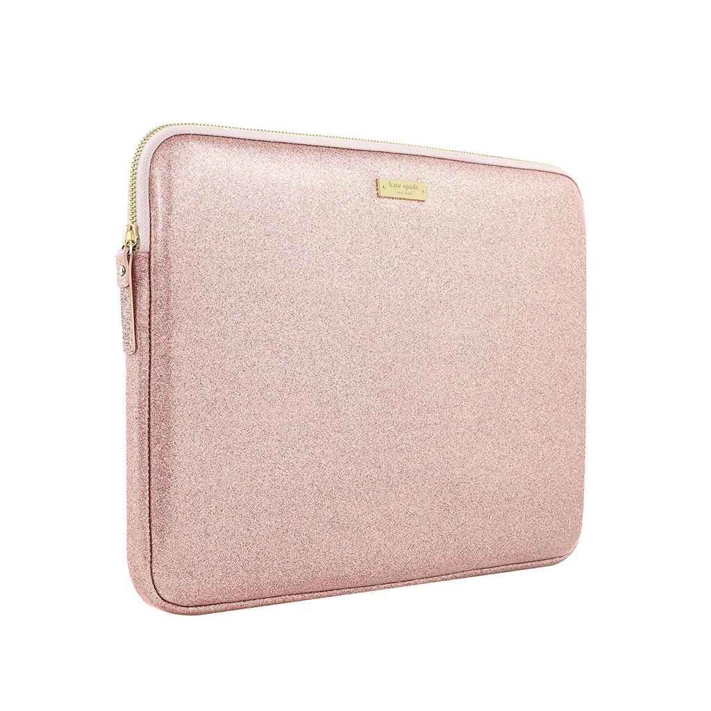 KATE SPADE NEW YORK GLITTER SLEEVE FOR MACBOOK PRO 13 / AIR 13 INCH - ROSE GOLD Australia Stock
