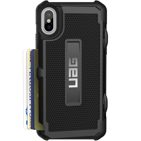 Shop Australia stock UAG TROOPER RUGGED WALLET CARD CASE FOR iPHONE XS/X - BLACK with free shipping online. Shop UAG collections with afterpay
