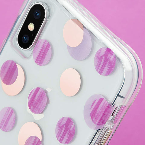 Pink Cute dotted case for iPhone Xs & iPhone X from Casemate