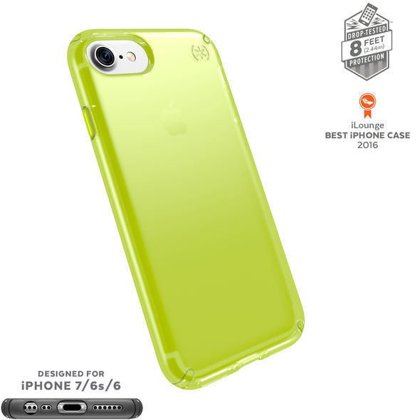 Shop Australia stock SPECK PRESIDIO CLEAR NEON IMPACTIUM CASE FOR iPHONE 8/7/6S - LIGHTNING YELLOW with free shipping online. Shop Speck collections with afterpay Australia Stock