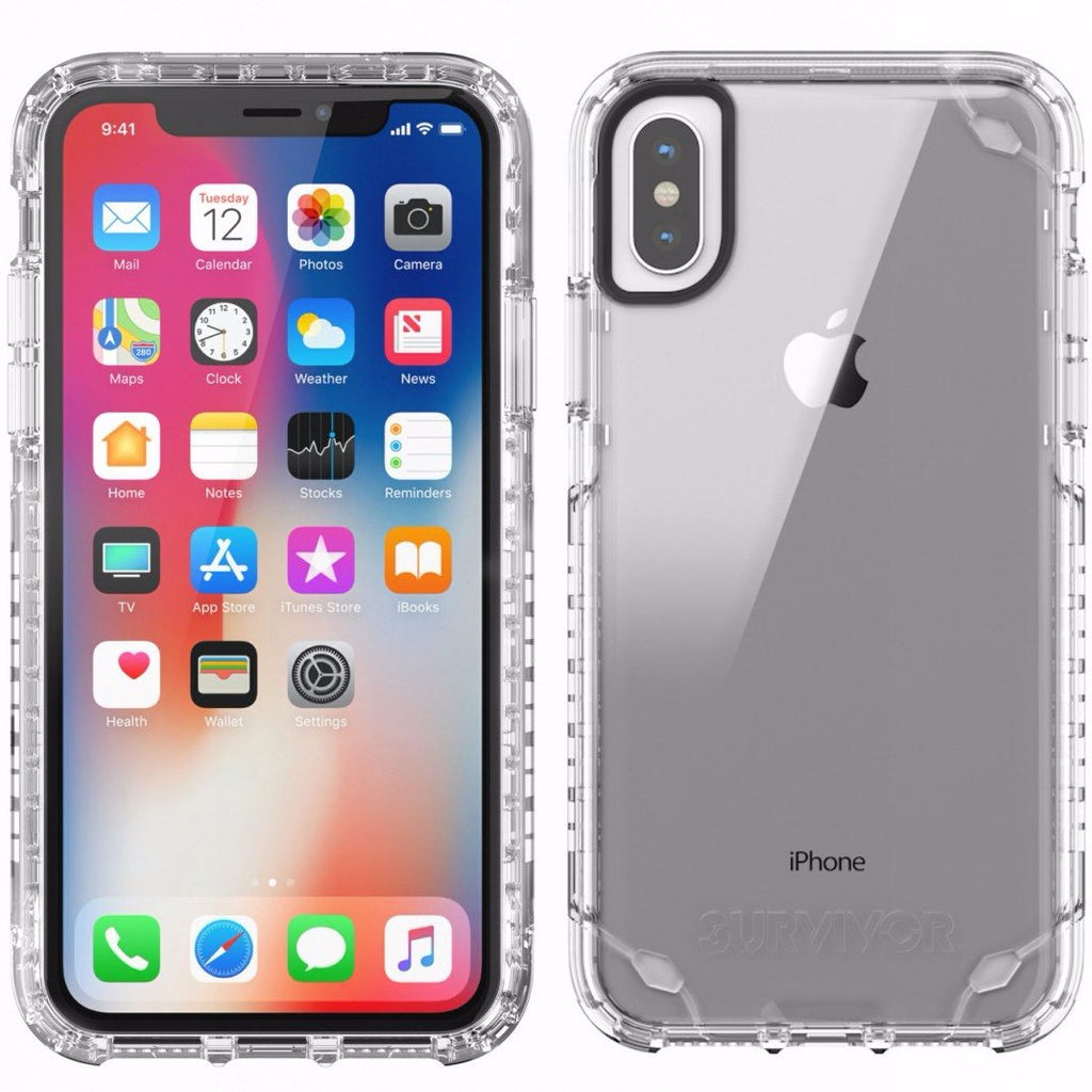 official and authorized store distributor to buy Griffin Survivor Strong Case For Iphone X - Clear. Free express shipping Australia wide. Australia Stock