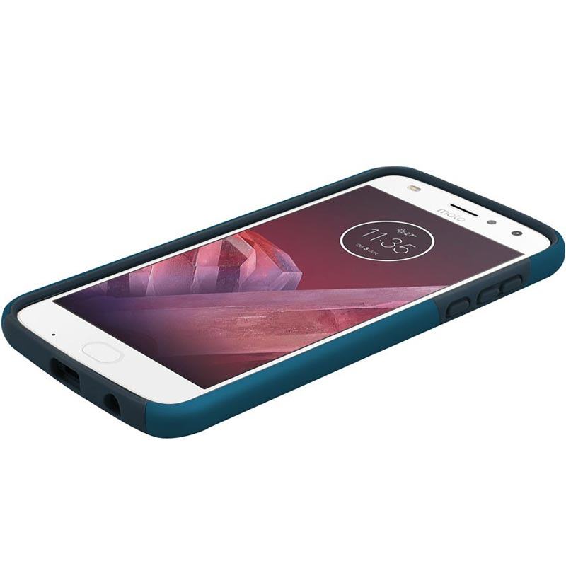 Incipio Dualpro Dual-Layer Protective Case For Moto Z2 Play - Navy Australia Stock