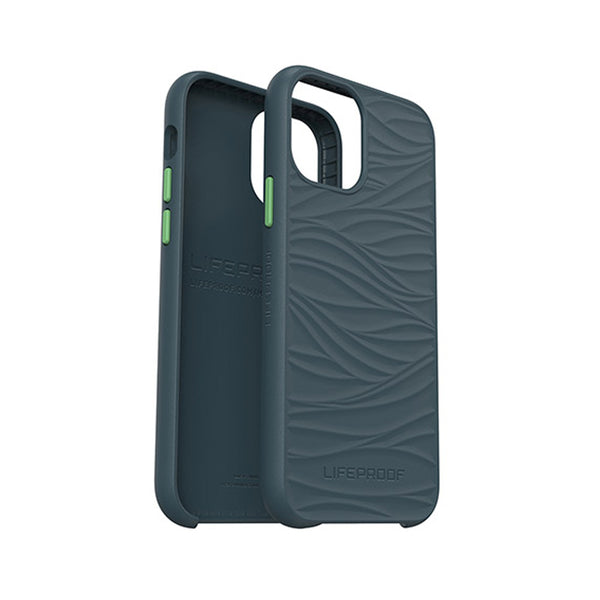The new sustainable iphone 12 and 12 pro case from lifeproof australia. Brand new stylish wake series with dark grey and a green touch