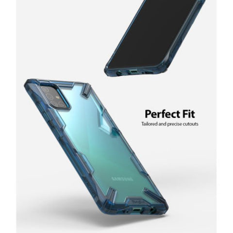 rugged outdoor case for samsung a51 blue colour from ringke australia