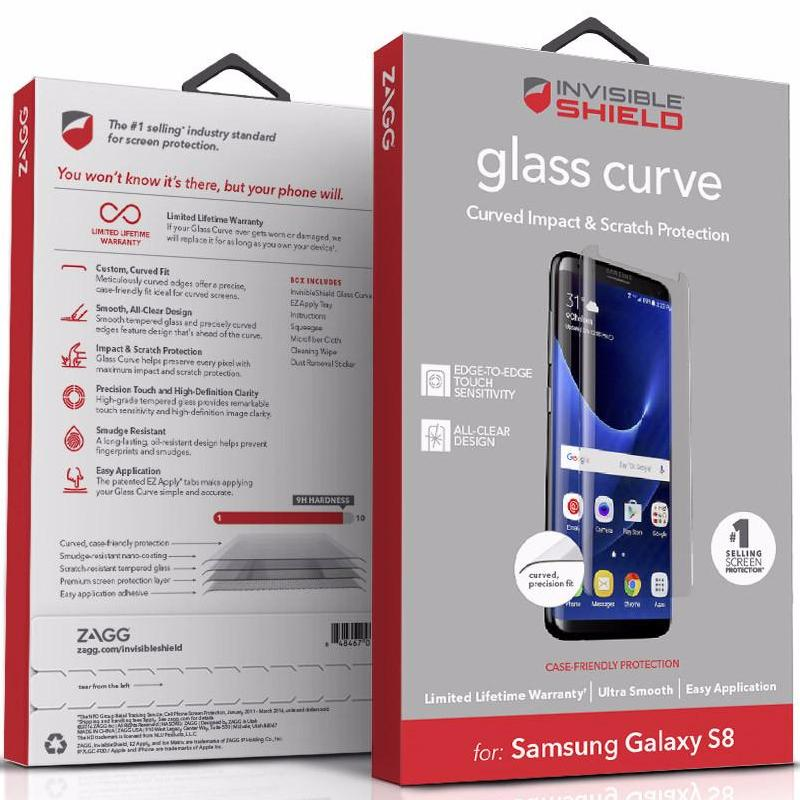 Shop Australia stock ZAGG INVISIBLESHIELD GLASS CURVED TEMPERED SCREEN PROTECTOR FOR GALAXY S8 with free shipping online. Shop Zagg collections with afterpay Australia Stock