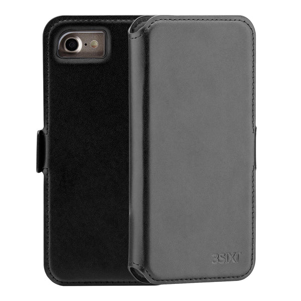 leather case for iphone se 2020 folio cover with card slot from 3sixt australia