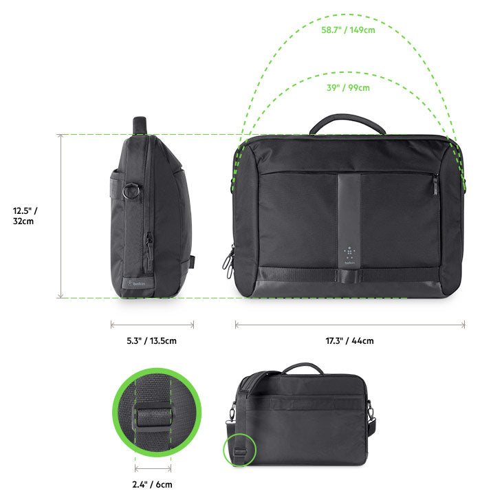 Shop Australia stock BELKIN ACTIVE PRO MESSENGER BAG FOR MACBOOK/LAPTOP UPTO 15.6 INCH - BLACK with free shipping online. Shop Belkin collections with afterpay Australia Stock