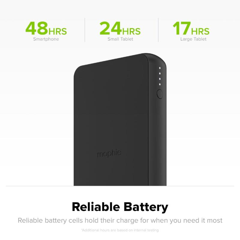 MOPHIE CHARGE STREAM POWERSTATION WIRELESS XL 10,000MAH PORTABLE BATTERY Australia Stock
